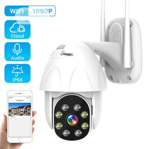 1080P WIFI Outdoor PTZ IP Camera Wireless Dome Waterproof | Security & Surveillance for sale in Lagos State, Ikeja