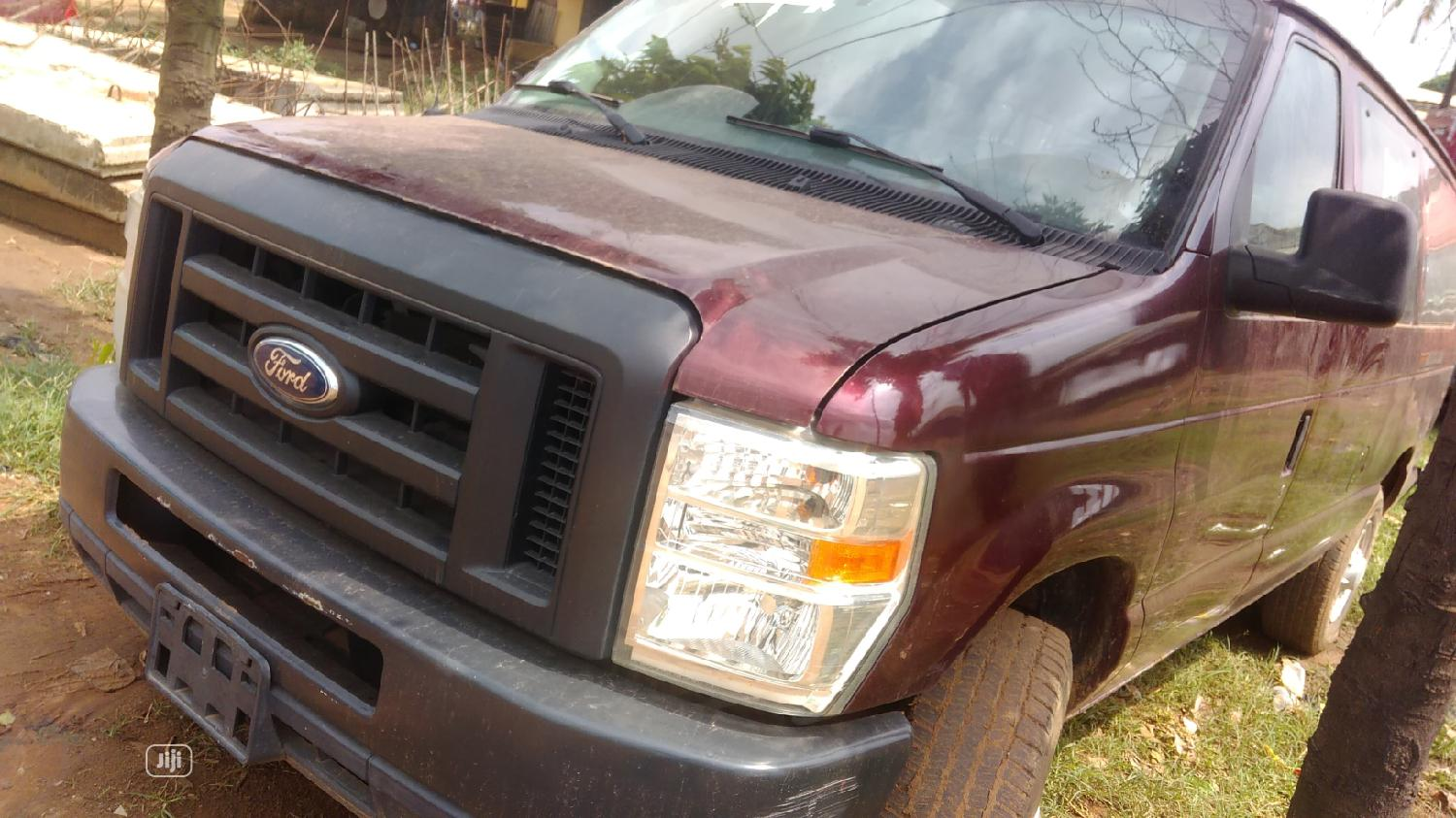 Tokunbo Ford E350 2012 Red