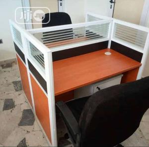 Quality Imported 2 Man Office Workstation Table With Drawers | Furniture for sale in Lagos State, Ikeja