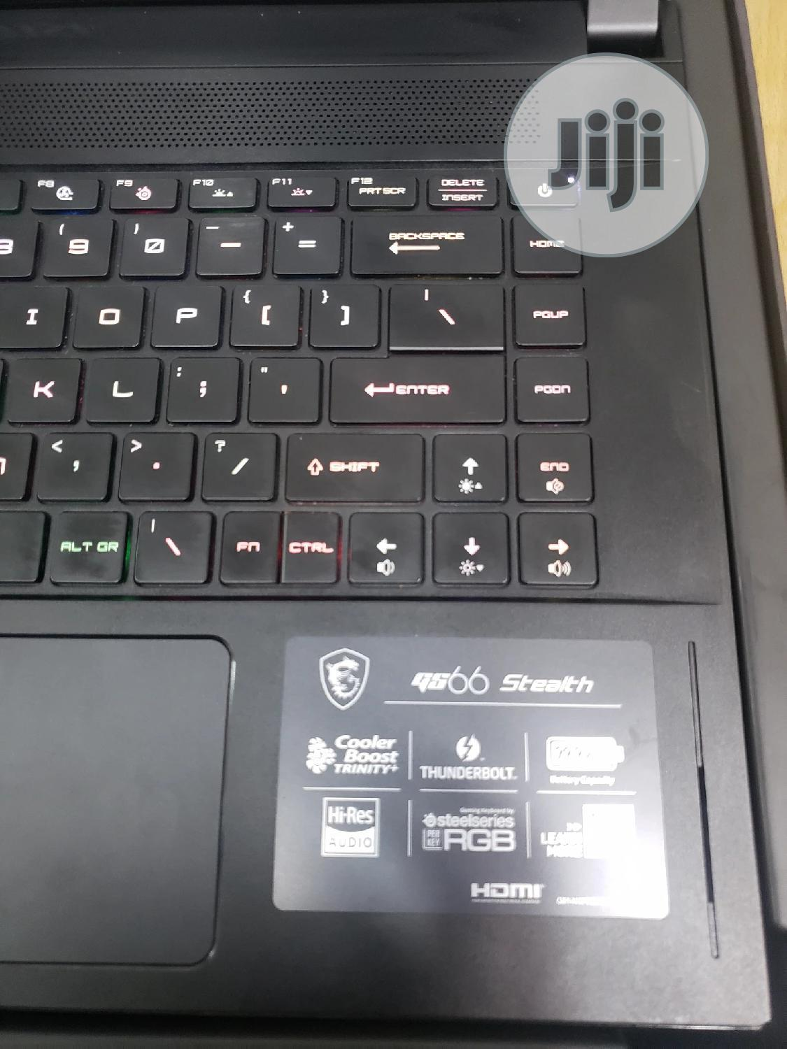 New Laptop MSI GS65 Stealth Thin 8RF 16GB Intel Core i7 SSD 1.5T | Laptops & Computers for sale in Ikeja, Lagos State, Nigeria