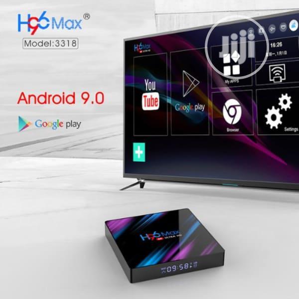 H96 Max Android Tv Box Dual Band | TV & DVD Equipment for sale in Lagos Island (Eko), Lagos State, Nigeria