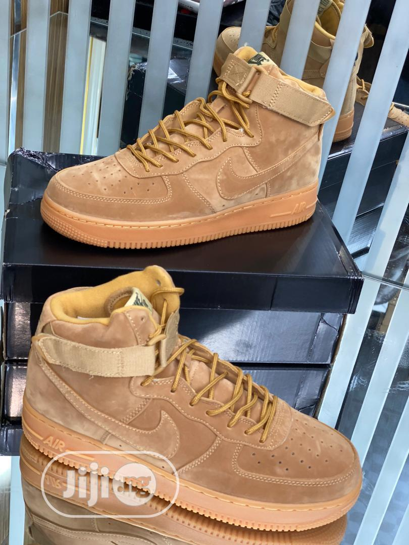 Nike Airforce 1 High Brown Original