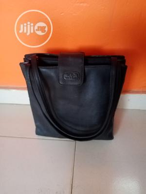 Dark Gray Shoulder Bag Made With Genuine Leather | Bags for sale in Lagos State, Ikorodu