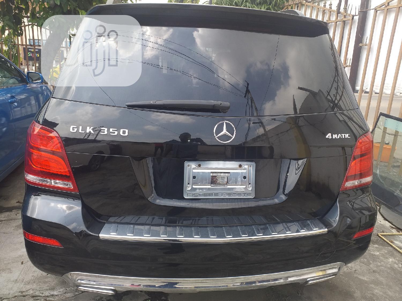 Archive: Mercedes-Benz GLK-Class 2013 350 4MATIC Black