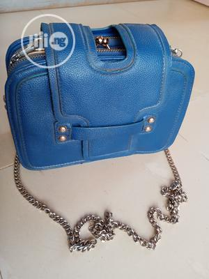 Blue Cross Bag Made With High Quality Leather | Bags for sale in Lagos State, Ikorodu