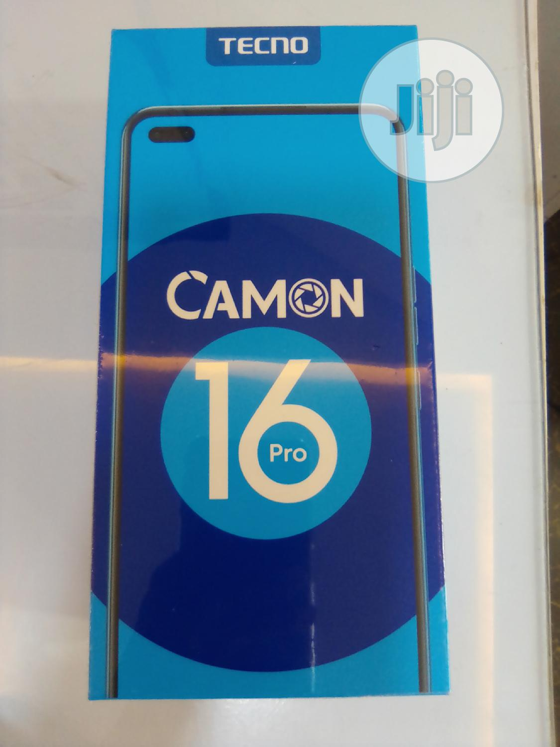 New Tecno Camon 16 Pro 64 GB Black | Mobile Phones for sale in Ikeja, Lagos State, Nigeria