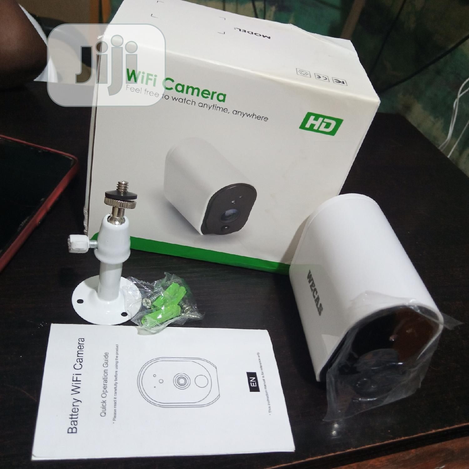 Wireless Battery CCTV Camera