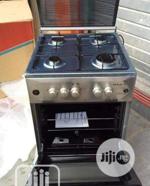 { Maxi 4 Gas Burner Standing Cooker Auto-ignition+Oven+Lamp | Kitchen Appliances for sale in Lagos State, Ajah