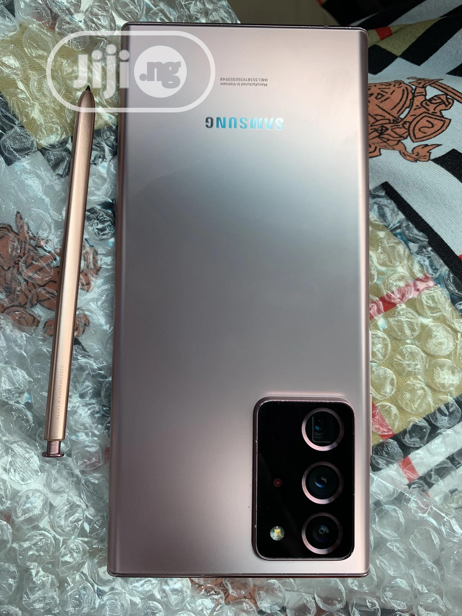 Samsung Galaxy Note 20 Ultra 5G 128GB Gold | Mobile Phones for sale in Benin City, Edo State, Nigeria