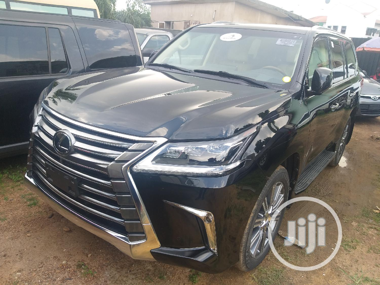 Lexus LX 2017 570 Base Black | Cars for sale in Gbagada, Lagos State, Nigeria