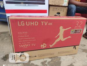 LG 32''-inch UHD SMART TV Wi-fi (Netflix App)+ Free Bracket | TV & DVD Equipment for sale in Lagos State, Ikeja