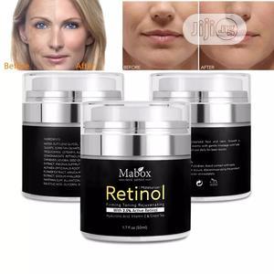 Mabox Retinol Facial Moisturizer Anti Aging Cream | Skin Care for sale in Lagos State, Surulere
