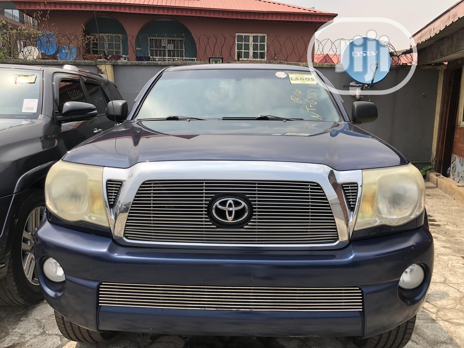 Toyota Tacoma 2007 Blue | Cars for sale in Ikeja, Lagos State, Nigeria