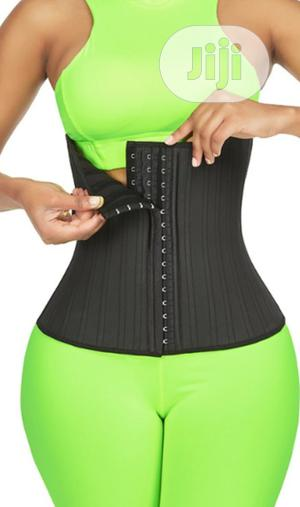 Women Latex Waist Trainer 25 Steel Bone Invisible Shapewear   Clothing Accessories for sale in Lagos State, Surulere