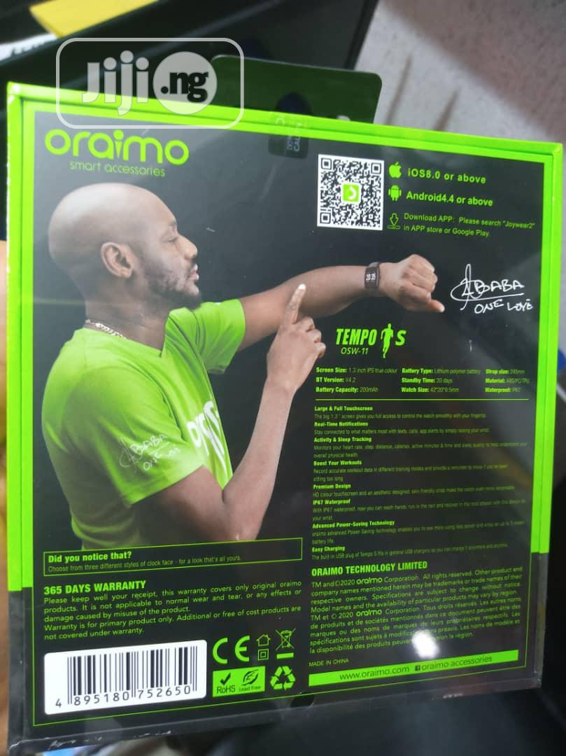 Oraimo Fitband Smartwatch | Smart Watches & Trackers for sale in Ikeja, Lagos State, Nigeria