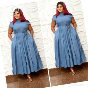 Ladies Long Jeans Gown   Clothing for sale in Lagos State, Lagos Island (Eko)