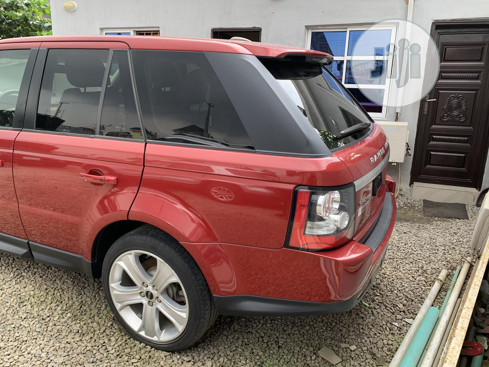 Land Rover Range Rover Sport 2012 HSE LUX Red | Cars for sale in Amuwo-Odofin, Lagos State, Nigeria
