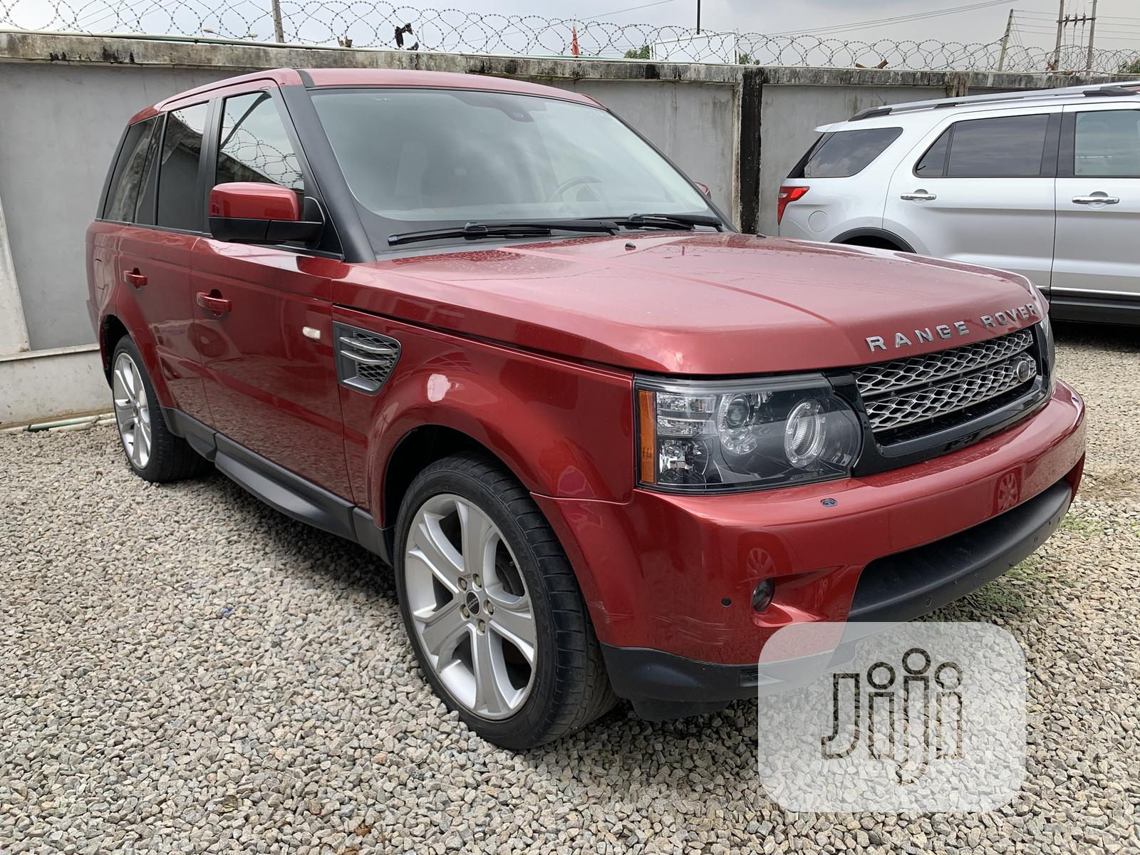 Land Rover Range Rover Sport 2012 HSE LUX Red