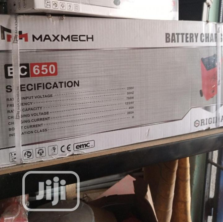 Maxmech Battery Charger BC650