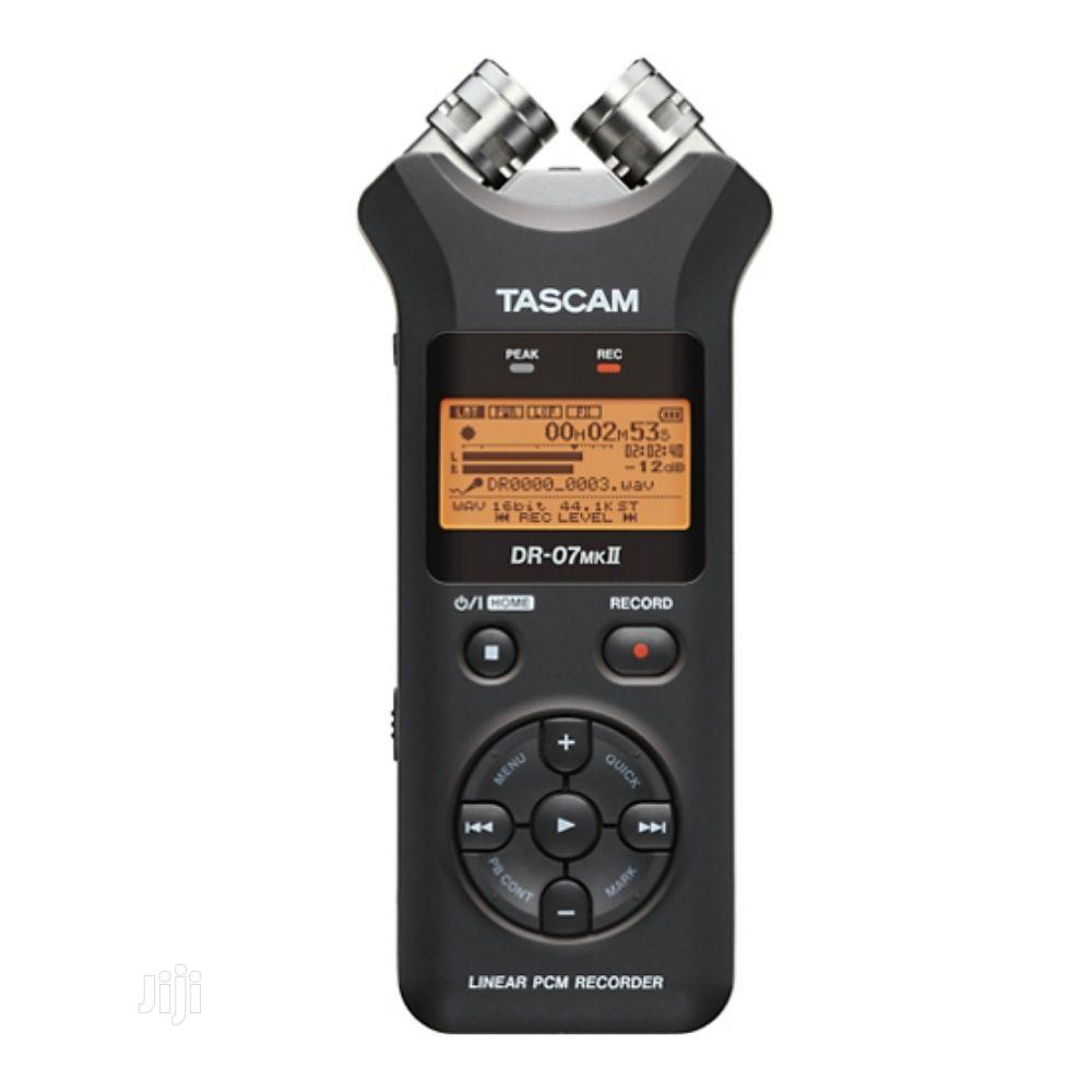 Archive: Tascam Dr-07mkii Handheld Digital Recorder