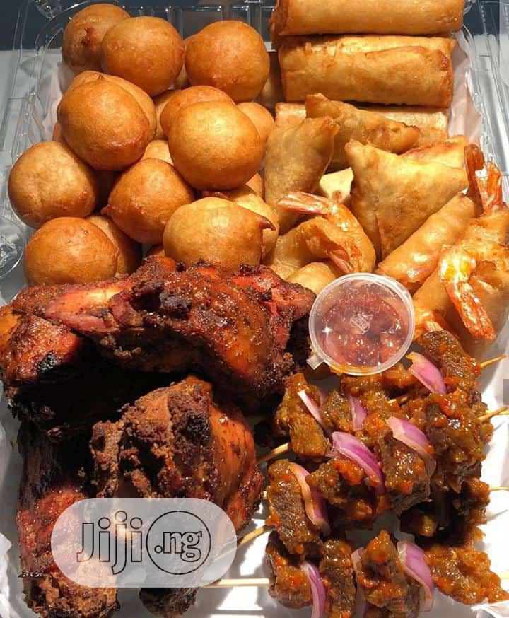 Dealers on Small Chops ,Cakes and Snacks