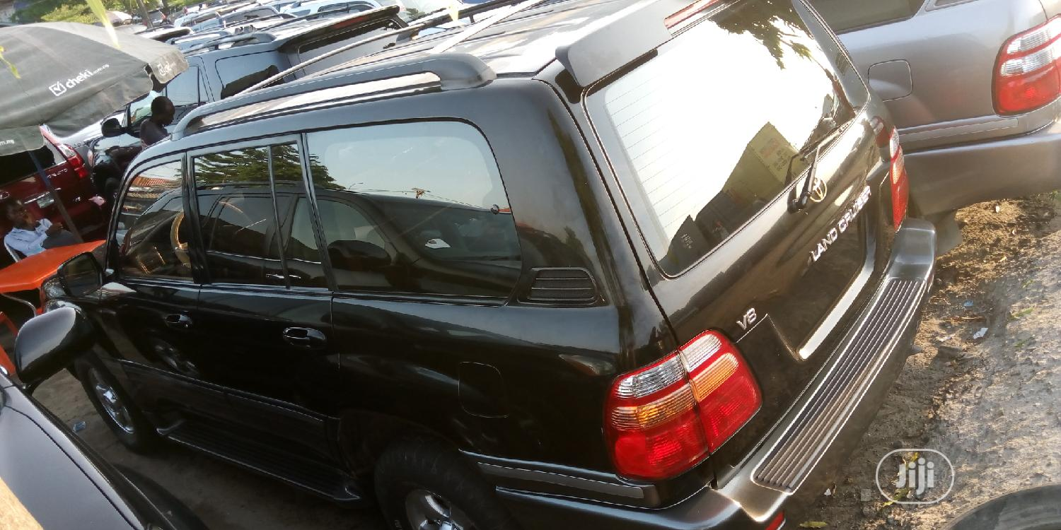 Toyota Land Cruiser 2003 3.0 D Automatic Black | Cars for sale in Apapa, Lagos State, Nigeria