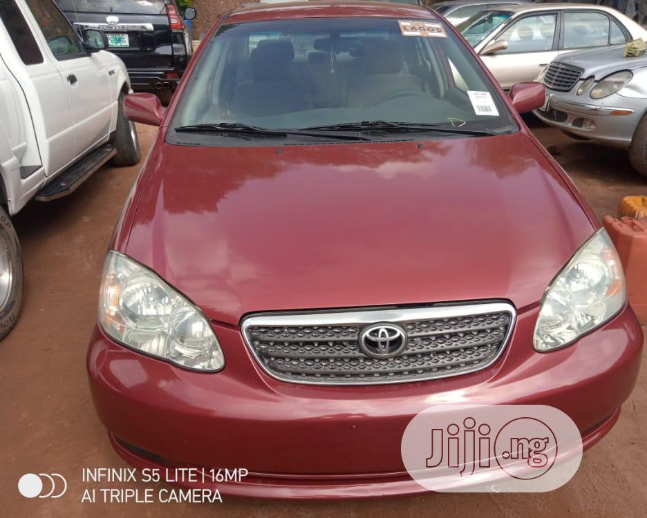 Toyota Corolla 2005 Le Red In Kosofe Cars Mudijay Jiji Ng For Sale In Kosofe Buy Cars From Mudijay On Jiji Ng