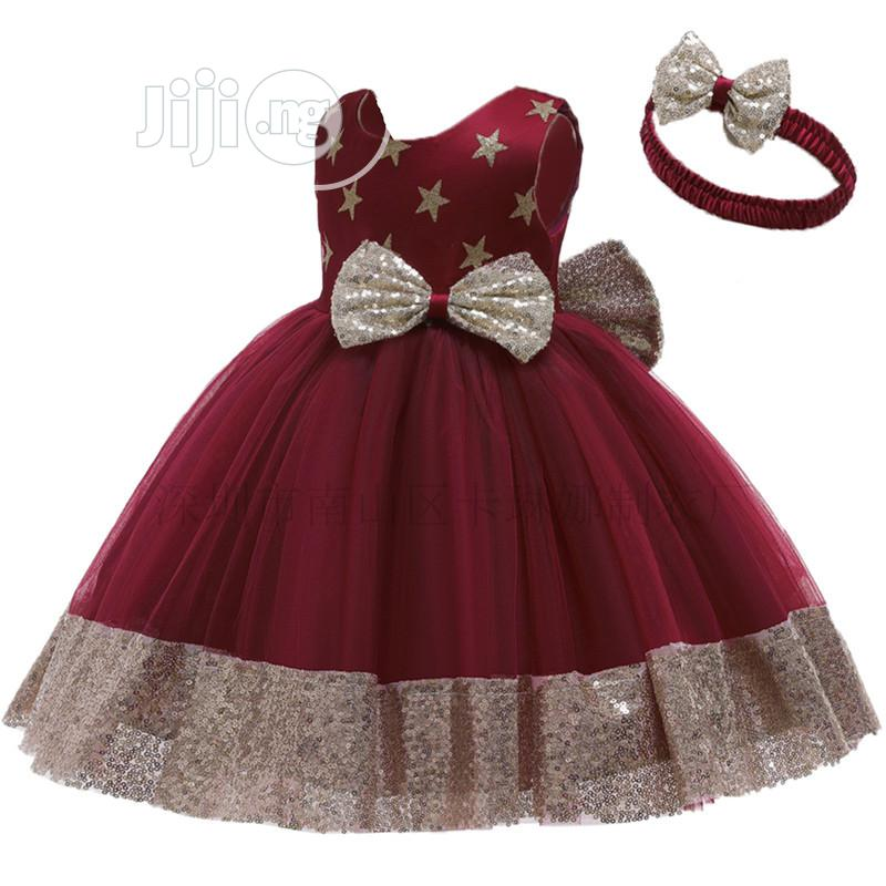 Beautiful Children Gown From 2 to 11 Years