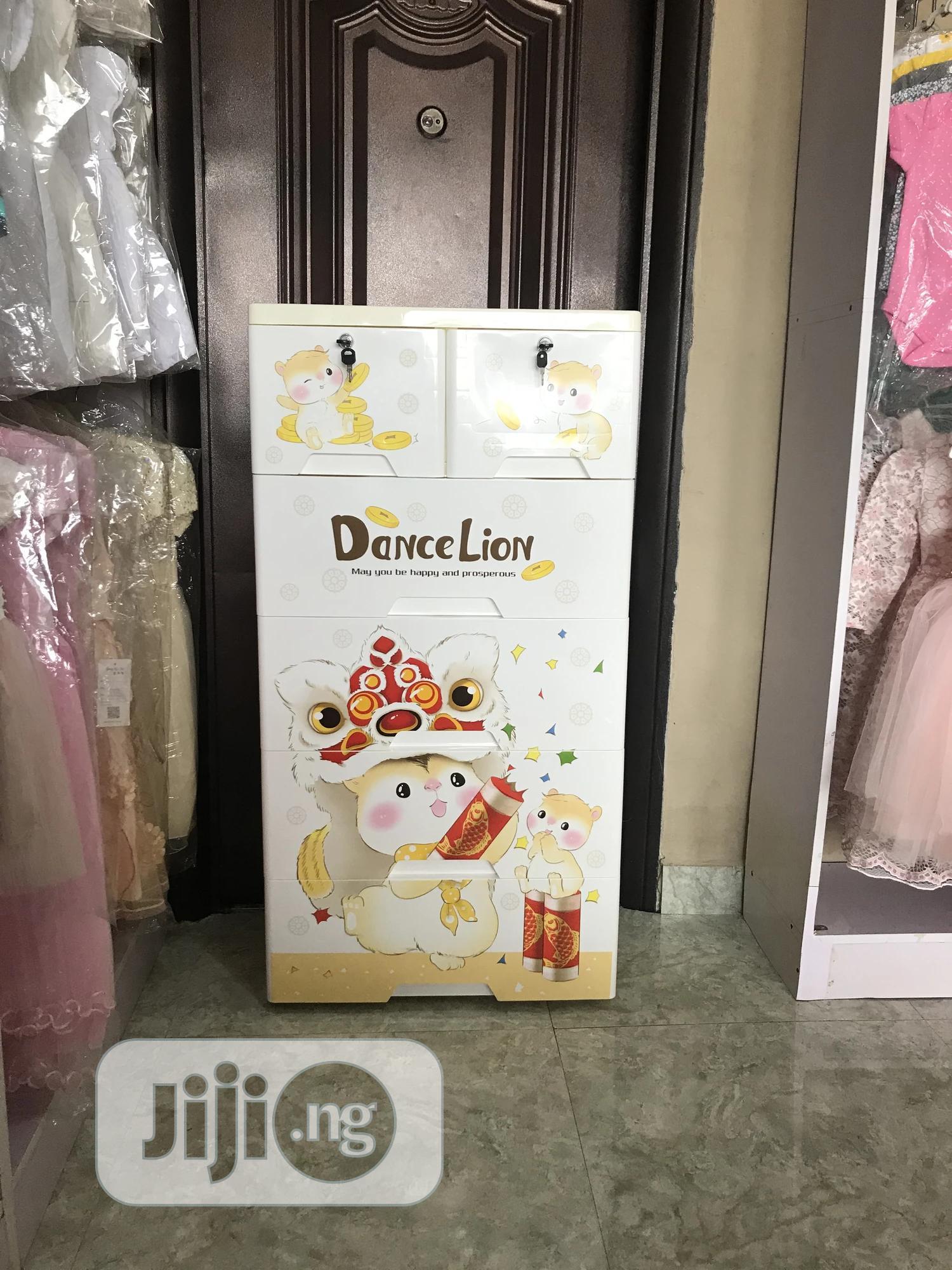 5 Layer Plastic Drawers