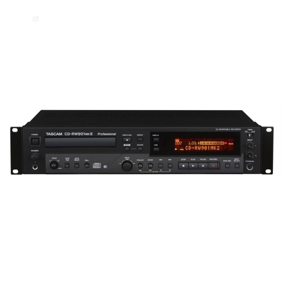 Archive: Tascam CD-RW901MKII CD Recorder