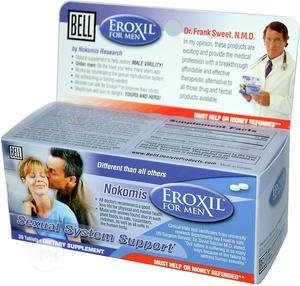 Bell Nokomis Libigen(Exoxil) For Men   Vitamins & Supplements for sale in Abuja (FCT) State, Wuse 2