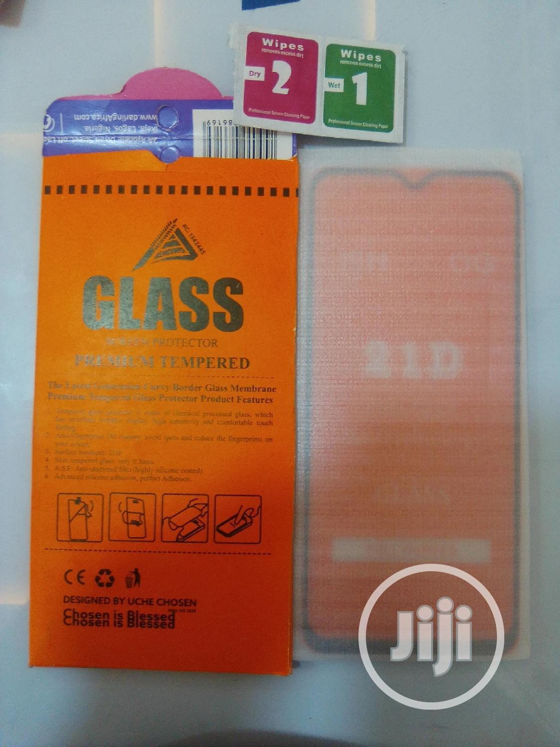 Tecno Pouvoir 3 Air (LC7), 21D Glass Screen Protector | Accessories for Mobile Phones & Tablets for sale in Ikeja, Lagos State, Nigeria