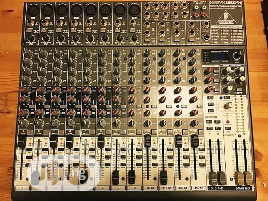 Archive: Berhinger Xenyx 2222fx Mixer Uk Used