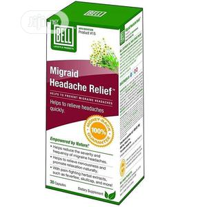 Bell Migraid Headache Relief - Migraines Severity Sorted   Vitamins & Supplements for sale in Abuja (FCT) State, Wuse 2