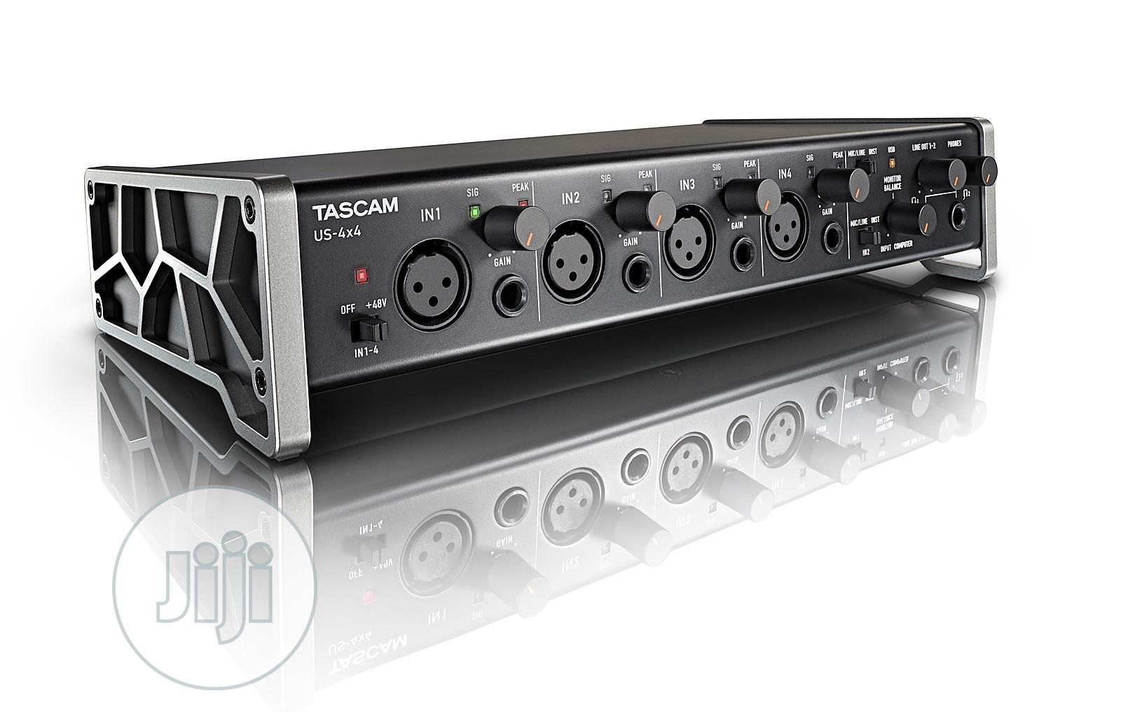 Archive: Tascam US 4X4 USB Soundcard