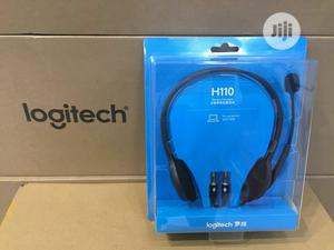Logitech Usb Computer Headset H110 | Headphones for sale in Lagos State, Ogba