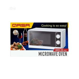 Qasa Microwave Oven + Grilling Function -20l- QMW-20L -19-07   Kitchen Appliances for sale in Lagos State, Alimosho