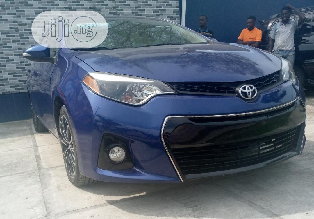 Toyota Corolla 2014 Blue   Cars for sale in Amuwo-Odofin, Lagos State, Nigeria