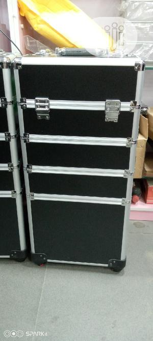 4in1 Black Layers Makeup Trolley Box   Tools & Accessories for sale in Lagos State, Amuwo-Odofin