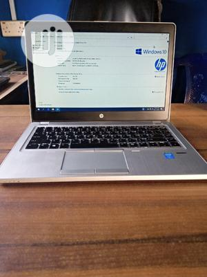 Laptop HP EliteBook Folio 9470M 4GB Intel Core I5 SSD 500GB   Laptops & Computers for sale in Lagos State, Ikeja