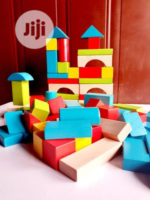 ELC Wooden Montessori Toy Building Blocks Bricks | Toys for sale in Lagos State, Surulere