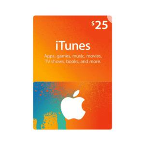 iTunes Gift Card (USA) - $25 | Accessories & Supplies for Electronics for sale in Lagos State, Ojodu