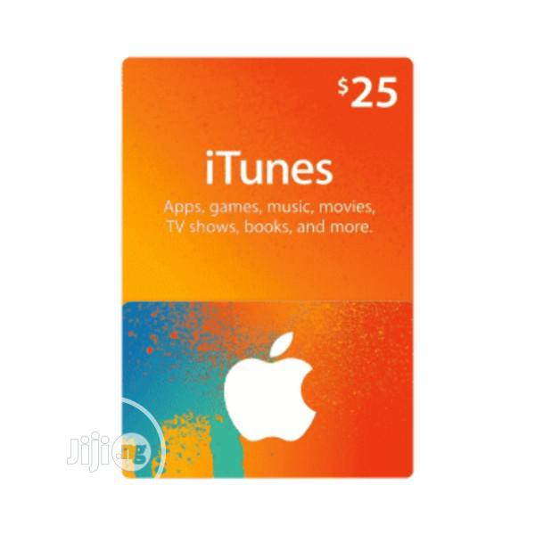 iTunes Gift Card (USA) - $25