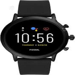 Fossil Unisex 44mm 4th Gen Smart Watch Fitness Tracker. | Smart Watches & Trackers for sale in Lagos State, Ikeja