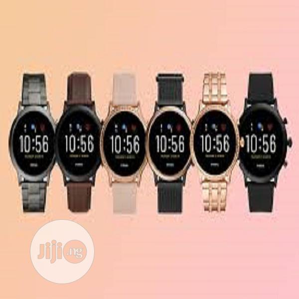 Fossil Unisex 44mm 4th Gen Smart Watch Fitness Tracker. | Smart Watches & Trackers for sale in Ikeja, Lagos State, Nigeria