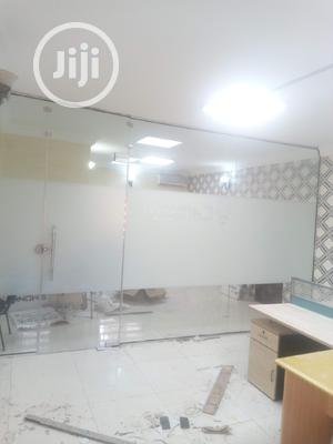 Office Frameless Tampered Glass Partition | Building & Trades Services for sale in Lagos State, Victoria Island