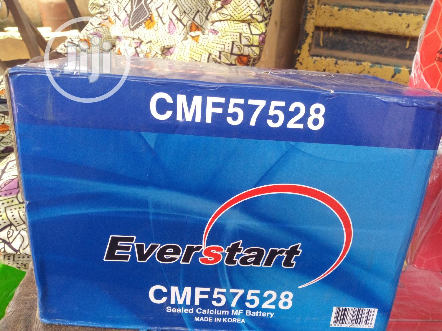 75amhs Everstart Battery Made In Korea | Vehicle Parts & Accessories for sale in Ifo, Ogun State, Nigeria
