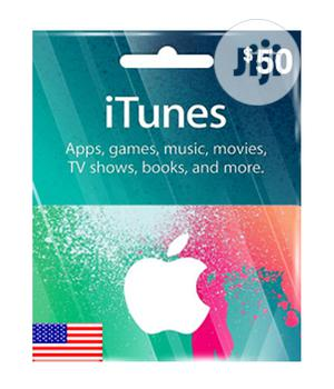 iTunes Gift Card (USA) - $50 | Accessories & Supplies for Electronics for sale in Lagos State, Ojodu