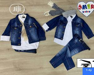 Kiddies 3in1 Jeans | Children's Clothing for sale in Lagos State, Ikeja