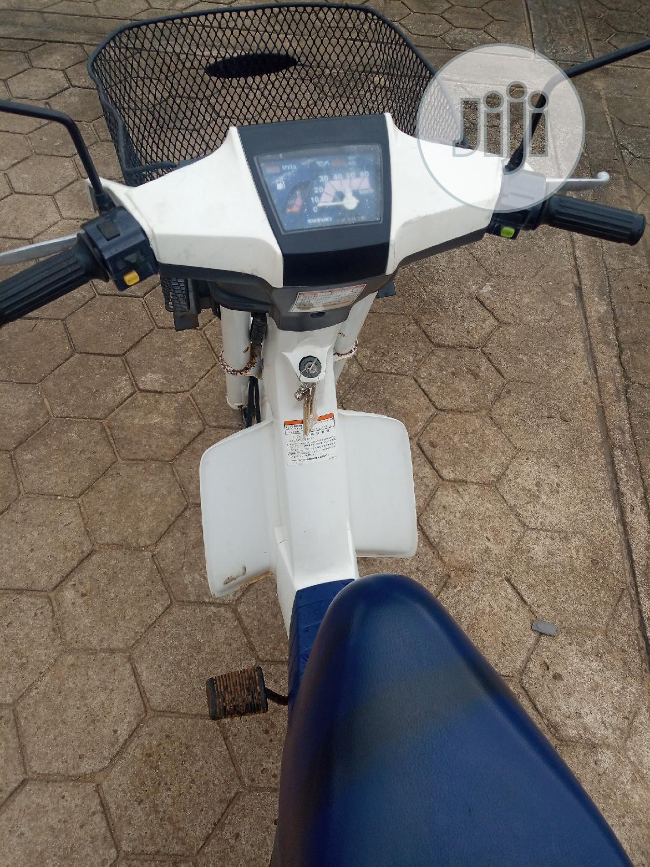Suzuki Bike 2010 White